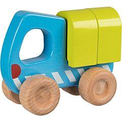 Náklaďák - dřevěné autíčko pro nejmenší
