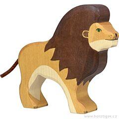 Dřevěný lev - Holztiger