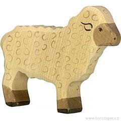 Holztiger - stojící bílá ovečka