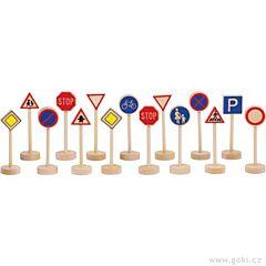 Dopravní značky Goki