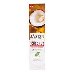 Zubní pasta Simply Coconut Cream bělicí 119 g JASON