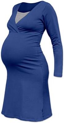 Těhotenská noční košile Eva, Jožánek - dlouhý rukáv