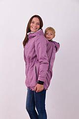 ALICE nosící softshell bunda Jožánek - M/L, růžový melír