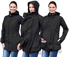 PAVLA 2 nosící softshell bunda Jožánek - S/M, černá