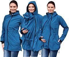 PAVLA 2 nosící softshell bunda Jožánek - S/M, petrolejová