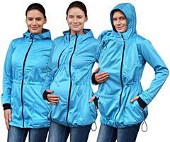 PAVLA 2 nosící softshell bunda Jožánek - S/M, sv. modrý melír