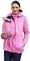 Nosící svetr Renáta růžový melír Jožánek - M/L