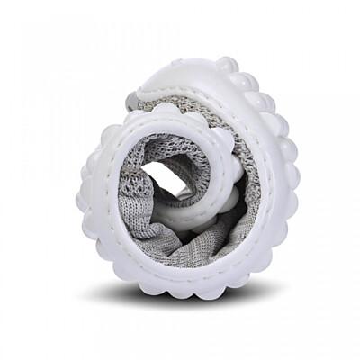 Leguano Beat stříbrnošedá, bílá podrážka