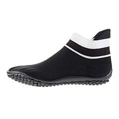Leguano Sneaker černá, bílý pruh XS