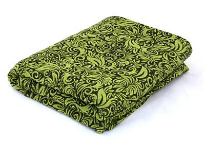 Šátek Lenire Flora Lime Green 4,7m