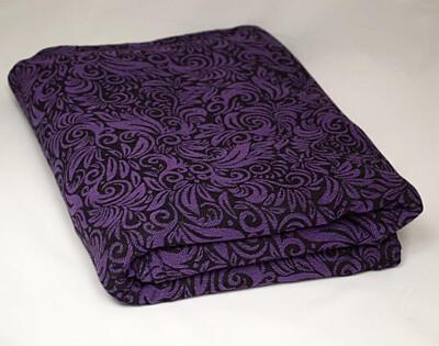Šátek Lenire Flora Violet 4,7m