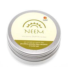 Libebit tuhý bylinný šampon NEEM v plechové krabičce