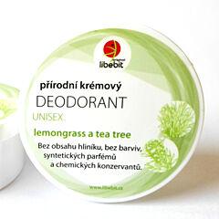 Přírodní krémový deodorant UNISEX Libebit 15ml