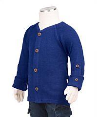 Manymonths kabátek merino 18 Jewel Blue Newcomer/Charmer 0-6/9 měs.