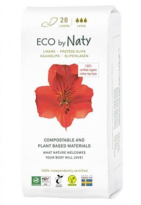Dámské ECO slipové vložky Naty (28 ks) - super