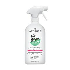 Čistiaci prostriedok na detské povrchy / hračky ATTITUDE bez vône s rozprašovačom 800 ml