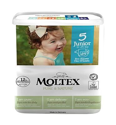 Plenky Moltex Pure & Nature 5 Junior 11-25 kg (25 ks)
