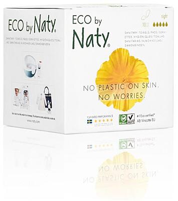 Dámské ECO vložky Naty (10 ks) - noční