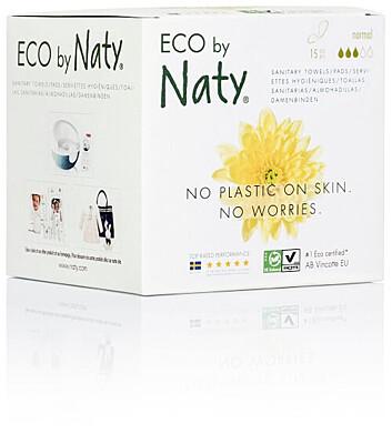 Dámské ECO vložky Naty - normal (15 ks)