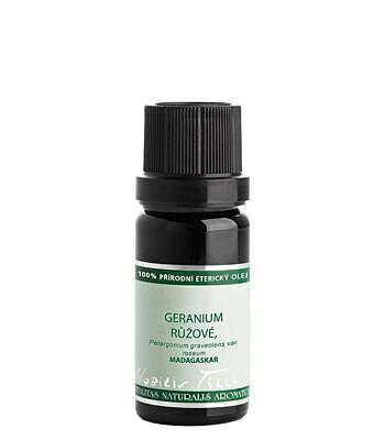 Éterický olej Geranium růžové, bourbon - Nobilis Tilia