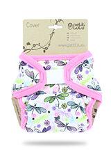 Svrchní kalhotky PUL na suchý zip Petit Lulu - Vážky