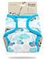 Svrchní kalhotky PUL na suchý zip Petit Lulu - Mráčky