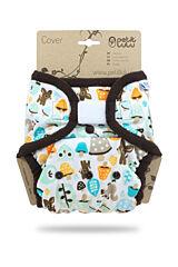 Svrchní kalhotky PUL na suchý zip Petit Lulu - Houbičky
