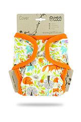 Svrchní kalhotky PUL na patentky Petit Lulu - Lišky