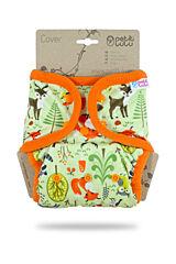 Svrchní kalhotky PUL na patentky Petit Lulu - Lesní zvířátka