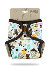 Svrchní kalhotky PUL na patentky Petit Lulu - Houbičky