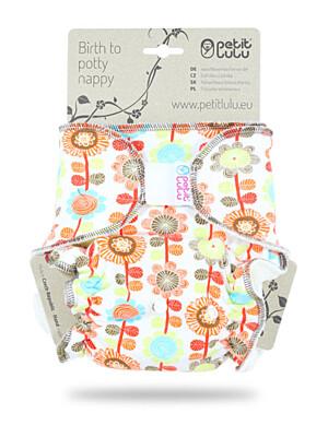 Kalhotková plena suchý zip Petit Lulu