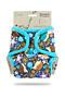 Svrchní kalhotky PUL na patentky Petit Lulu - Ježci