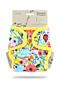 Svrchní kalhotky PUL na patentky Petit Lulu - Rozkvetlá zahrada
