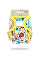 Novorozenecké svrchní kalhotky Petit Lulu - Rozkvetlá zahrada