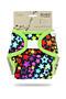 Svrchní kalhotky PUL na suchý zip Petit Lulu - Duhové hvězdy