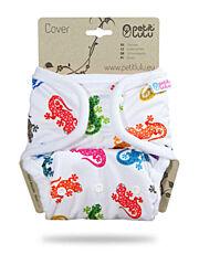 Svrchní kalhotky PUL na patentky Petit Lulu - Gekoni