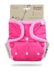 Svrchní kalhotky PUL na patentky Petit Lulu - Růžové
