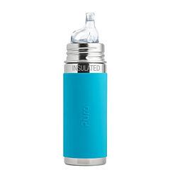 Pura® Termo láhev s pítkem 260 ml - aqua