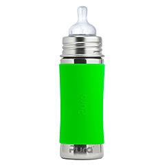 Pura®nerezová kojenecká láhev 325 ml-zelená