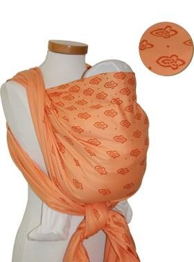 PŮJČENÍ - šátek Storrchenwiege Apricot 4,6m