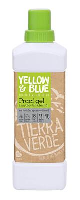 Prací gel z mýdlových ořechů pro funkční textil s přídavkem koloidního stříbra Y&B