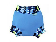 Neoprenové kojenecké plavky Unuo Autíčka modré XS