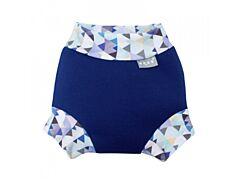 Neoprenové kojenecké plavky Unuo Mini trojúhelníčky modré XS