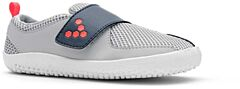 Vivobarefoot PRIMUS KIDS Grey Navy Orange Textile - 27