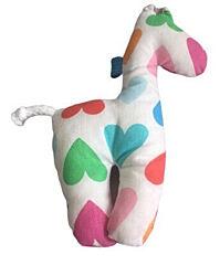 Žirafka chrastítko