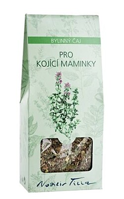 Čaj pro kojící maminky 50 g Nobilis Tilia