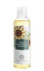 Tělový a masážní olej neutrální 200ml - Nobilis Tilia