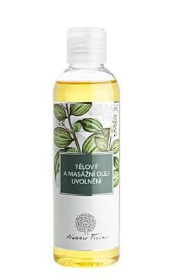 Tělový a masážní olej uvolnění 200ml - Nobilis Tilia
