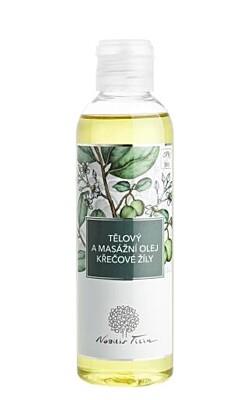 Tělový a masážní olej Křečové žíly - Nobilis Tilia