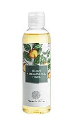 Tělový a masážní olej lymfa 200ml - Nobilis Tilia